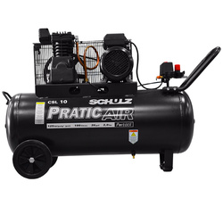 COMPRESOR CSL-10/100 PRATIC AIR 220V 2HP