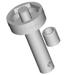 LLAVE SEXTAVADA 118MM P/ CUBO RE RAVEN