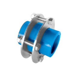 UNION CON FLANGE 25MM AZUL